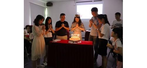 GOJEK:广杰环保集团4月员工生日会
