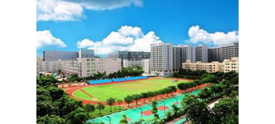 广杰 GOJEK:深圳市奋达职业技术学校14万风量油烟净化案例!