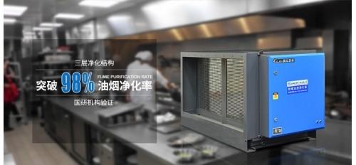 小型餐厅厨房适合安装哪种类型的油烟净化器?