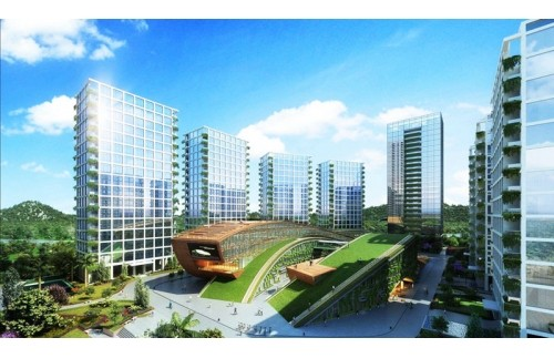 GOJEK:深圳侨城坊44.8万风量油烟净化器安装案例