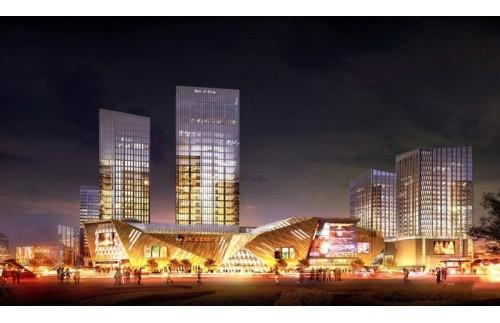 GOJEK:重庆力帆红星国际广场120万风量油烟净化设备安装项目案例