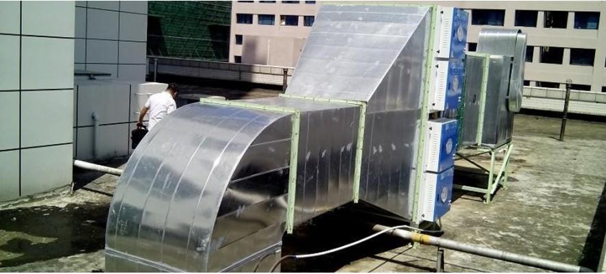 深圳商报集团食堂油烟净化器案例
