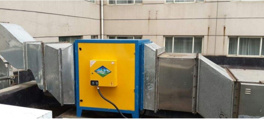工业高浓度油烟净化器案例
