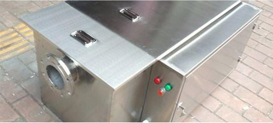 海雅集团订购的餐饮油水分离器