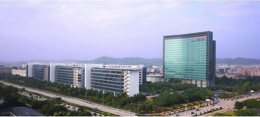 华为研发中心职工食堂60000风量油烟净化器安装案例