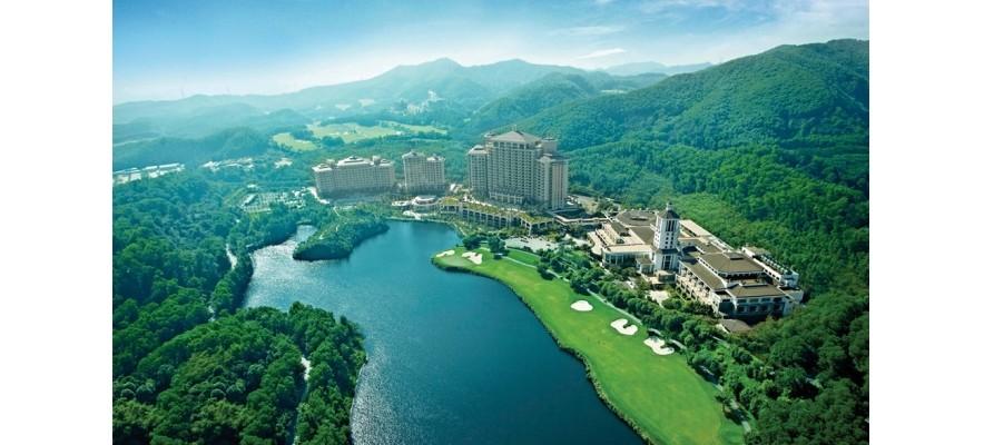 亚洲最大!深圳观澜高尔夫球场油烟净化器安装项目
