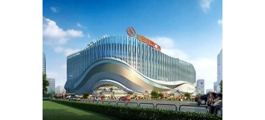 广杰GOJEK:兰州东瓯世贸广场安装640000风量油烟净化案例